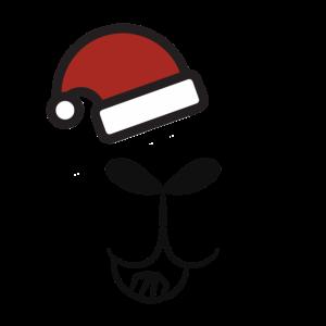 Weihnachtslamamaske