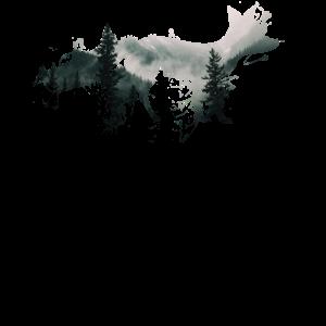 Fuchs Umwelt und Natur Abstrakter Nebel