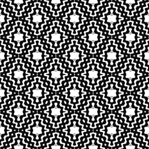 Schwarz Weiß Geometrisch