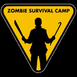 Zombie-Überlebenslager.