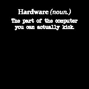 Hardware Spaß Informatiker IT-Abteilung Shirt