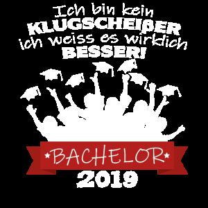 Bachelor 2019 Abschluss Funshirt