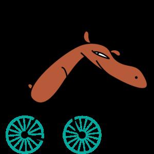 Fahrrad Elch b