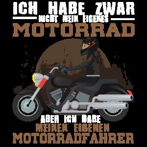 Ausgefallen und originelles Motorrad Paar Design