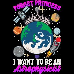 Vergiss Prinzessin, ich möchte Astrophysiker werden