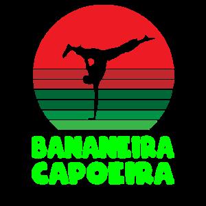 Capoeira bananeira retro sonne retro sun