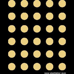 Punkte, Kreise gold glänzend/ silber glänzend