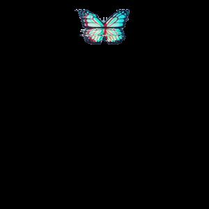 Glitch Butterfly Aesthetic - Butterfly