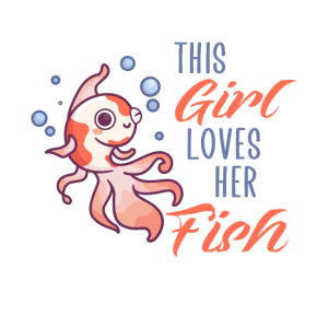 This girl loves her fish