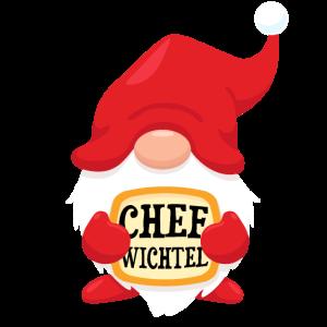 Chef Wichtel Weihnachtsoutfit Xmas Geschenk