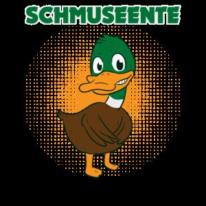 Schmuseente Schmusefreund Schmusen Ente