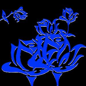 Gruppe von Blumen