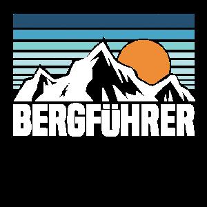 Bergführer Berge Vintage Bergsteiger Kletterer