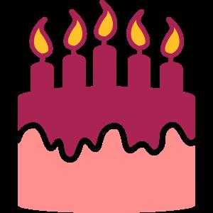 Geburtstagskuchen - Birthday cake - gâteau
