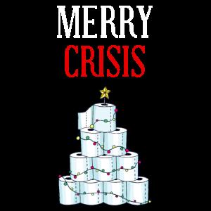 Merry Crisis Klopapier Tannenbaum