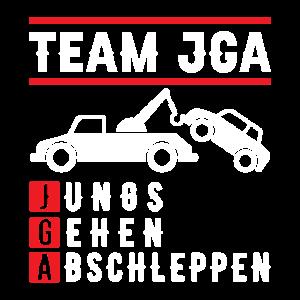 TEAM JGA – Jungs gehen abschleppen
