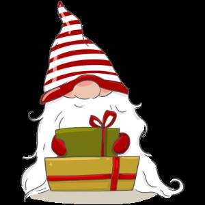 Geschenk Weihnachten nordische Elf Wichtel Zwerg