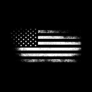 Vintage USA Amerika Flagge Gesichtsmaske