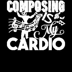 Komponist Komponieren ist mein Cardio