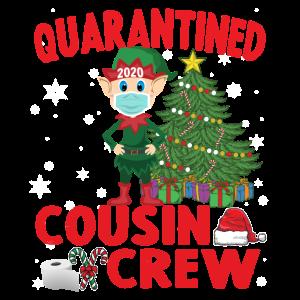 Weihnachtselfe - Weihnachten Cousin Crew Elf tragen