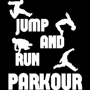 PARKOUR Jump and run Geschenk