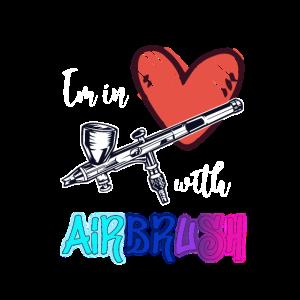 Ich bin verliebt in Airbrush-Pistolen-Sprühfarbenm