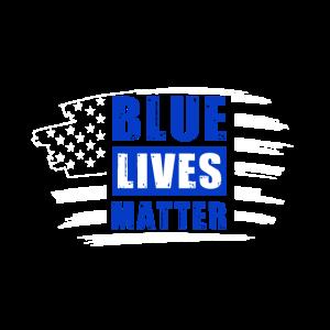 Blue Lives Matter - Unterstützung der Strafverfolg