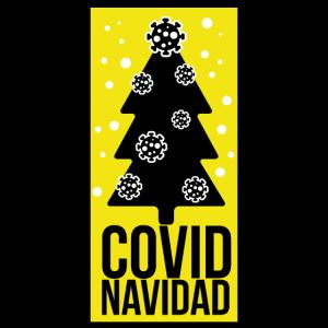Frohe Weihnachten Corona covid navidad feliz