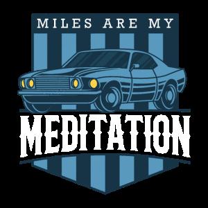 MUSCLE CAR Geschenk US Car Treffen für Auto