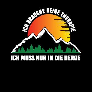 Brauche keine Therapie muss nur in die Berge