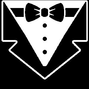 eleganter eleganter Gentleman-Smokinganzug