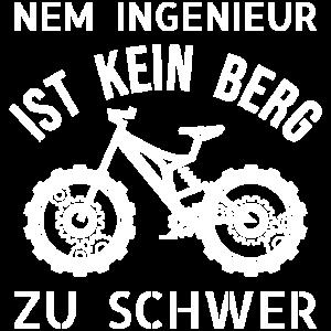 Nem Ingenieur ist kein Berg zu schwer - Fahrrad