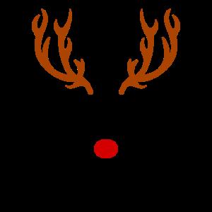 Rudolf Weihnachtsoutfit