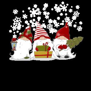 Nordische Weihnachten Gnome Elfen Wichtel Geschenk