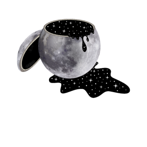 Mond, Universum, Sterne, Vollmond