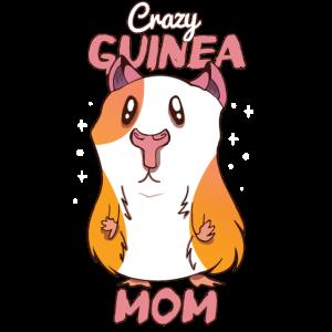 Cute Guinea Pig Mom Cartoon Gift