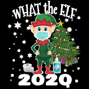 2020 Weihnachten - Was der Elf - Lustiger Elf trägt