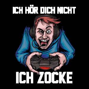 Zocken Gaming Gamer Gamerin Leveln Pc Konsole Nerd