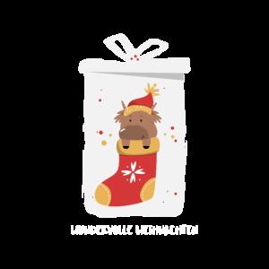 Weihnachtssocke Wundervolle Weihnachten