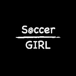 Soccer Girl Fußballerin Fußballspruch Fußballliebe