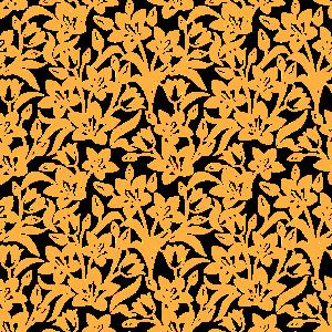 Dekor Gelbe Blumen