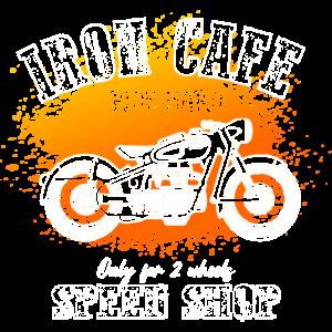 Eisencafé - Vintage Motorrad