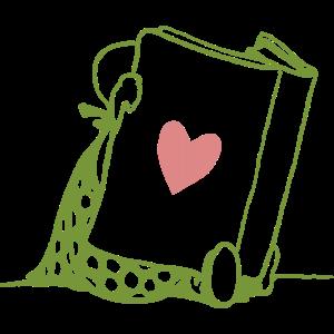I Love Books Mein Herz gehört Büchern Leseratten