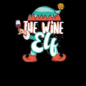 Elfen tshirt I die Wein Elfe