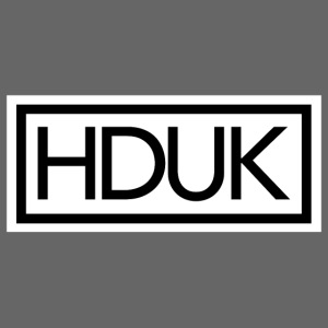HDUK Black Logo with Border