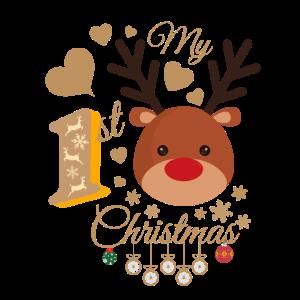 Baby's erste Weihnachten