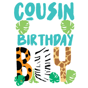 Cousin Safari Geburtstag Geschenk