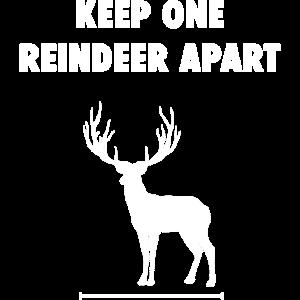 Keep One Reindeer Apart Weihnachten