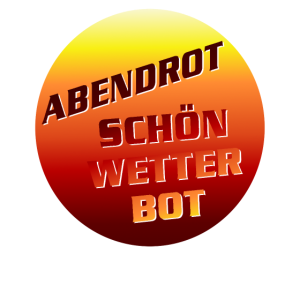 abendrot weiss
