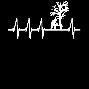 Kettensäge Baum fällen